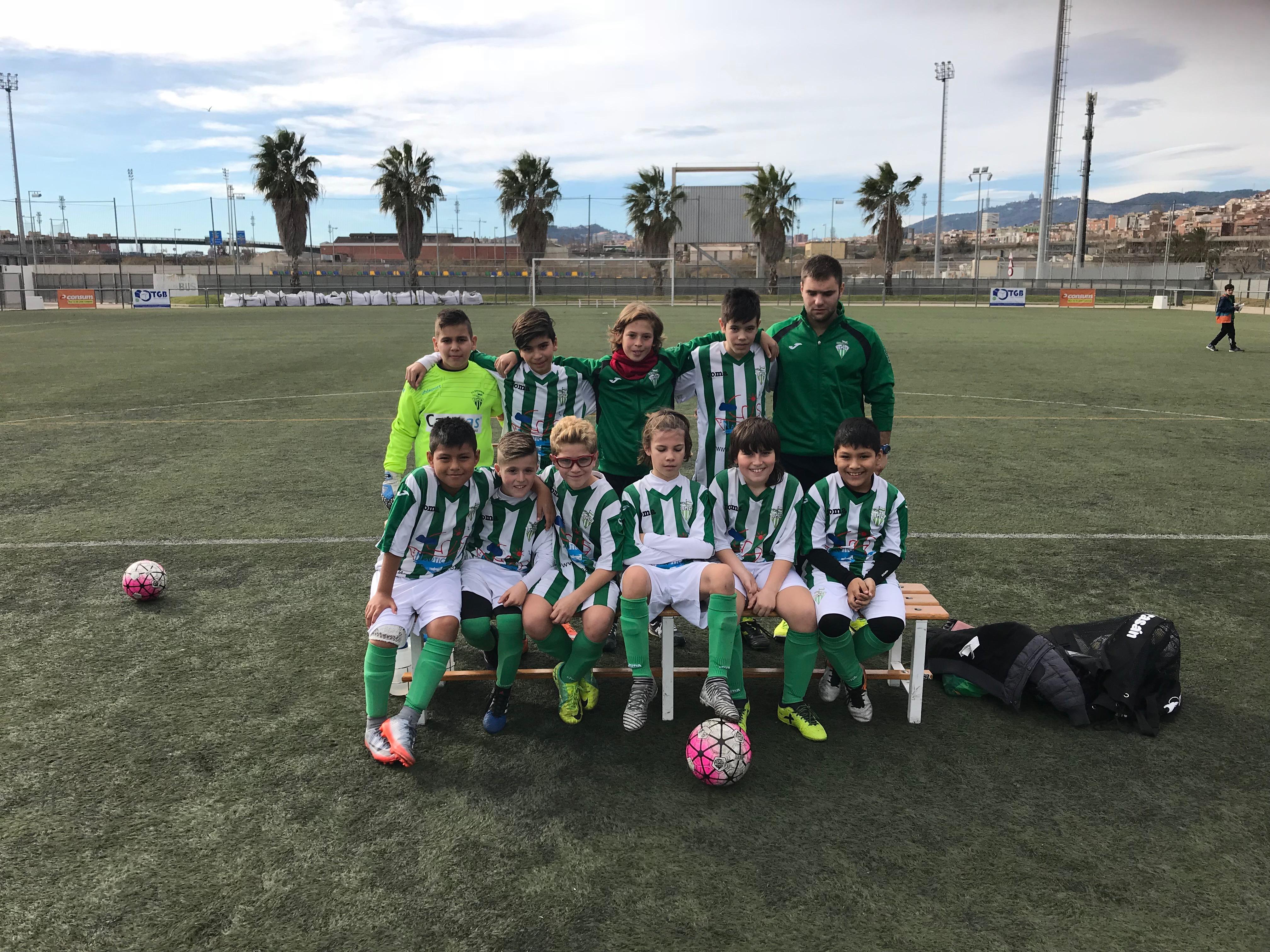 El Alevín A cae ante la FE Grama a pesar del buen fútbol – C.F. ...