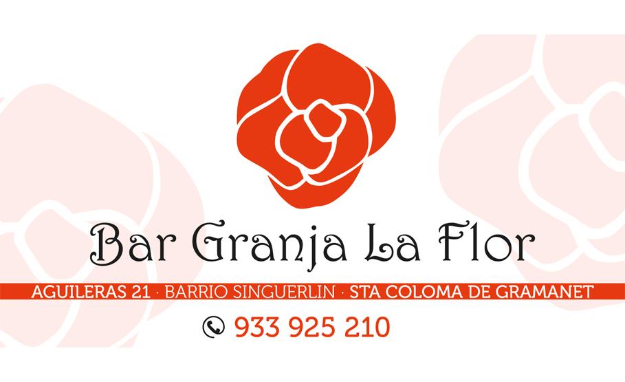 CROMO-BAR-GRANJA-LA-FLOR