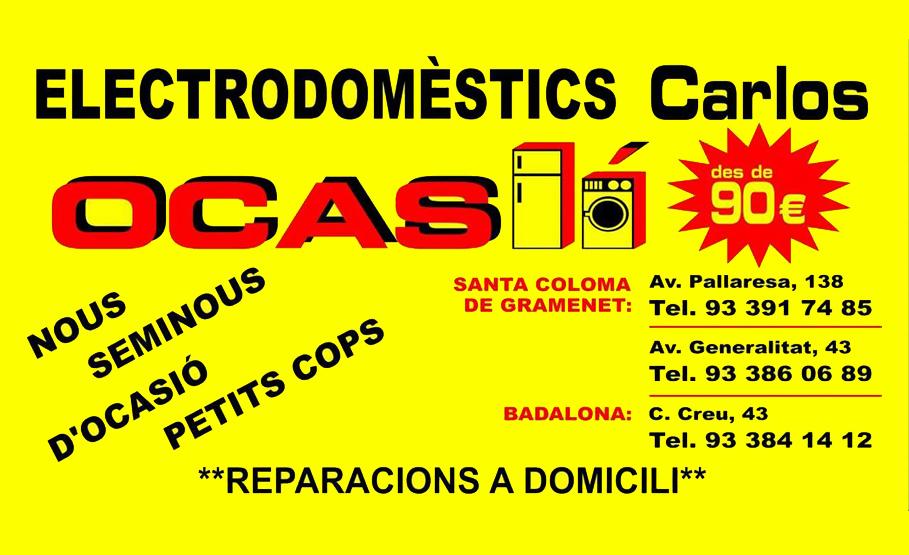 CROMO-ELECTRODOMESTICS-CARLOS