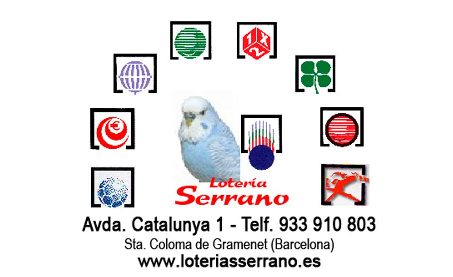 CROMO-LOTERIAS-SERRANO
